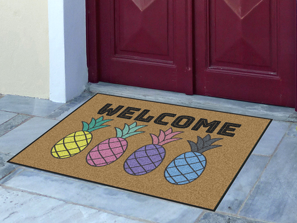 Write Your Own Pineapple 2' x 3' Doormat