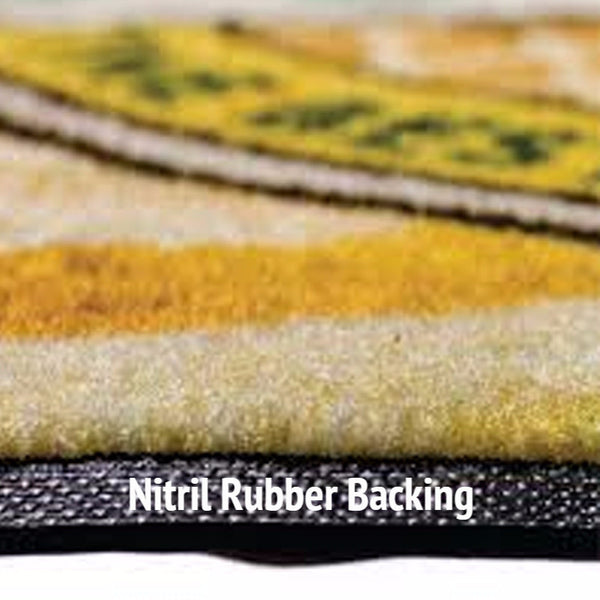 Rubber Backed Carpeted High Definition Logo Mat