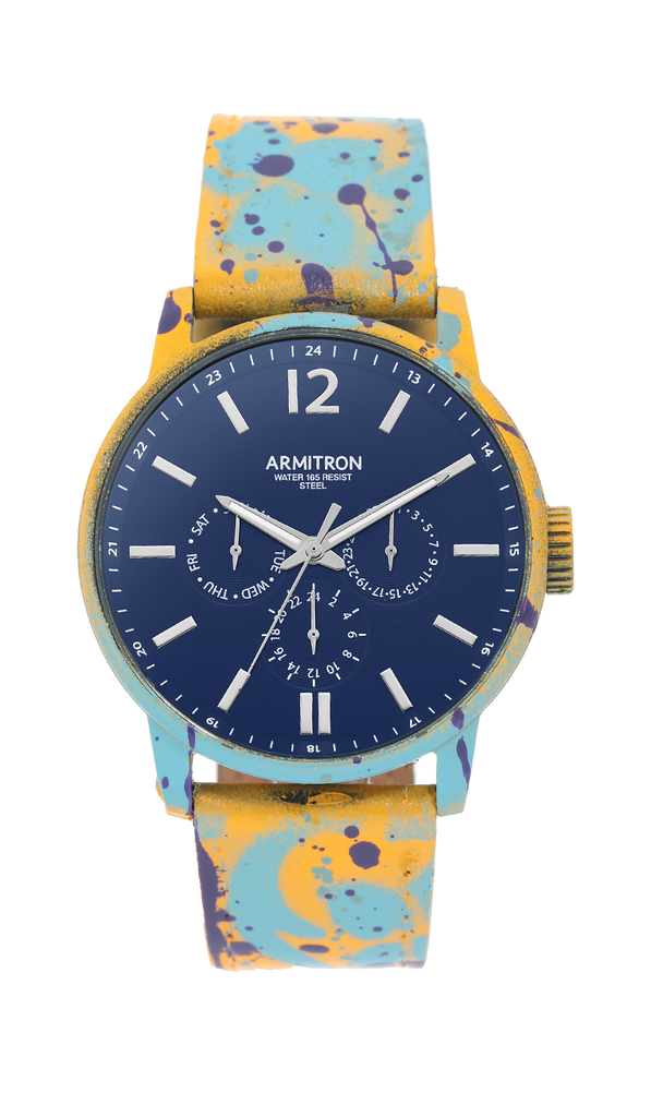 Bensonhurst Blue Graffiti Watch