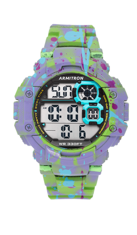 Lavender King Toad Graffiti Watch / Lavender / 54mm