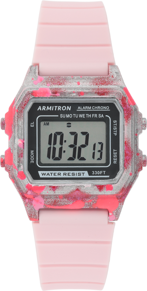Slap Digi Pink Graffiti Watch
