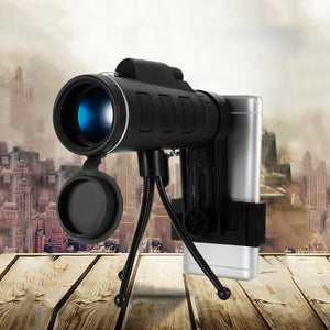 Monocular Telescope for Mobile Phones