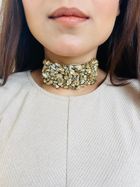 Gold Wrapping Choker