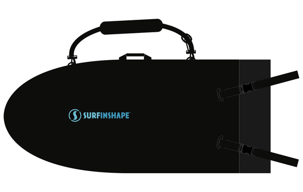 Surfinshape® Board Bag fits either the