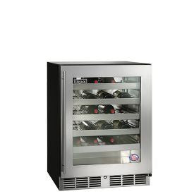 "Perlick 24"" ADA-Compliant Wine Reserve/Cooler with fully integrated glass door Wine Coolers WinecoolerMart"