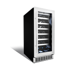 Silhouette Professional Series 28 Bottle Single Zone Wine Cooler - Tuscany Wine Coolers WinecoolerMart