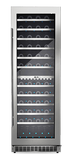 Silhouette Professional Series 129 Bottle Dual Zone Wine Cooler - Bordeaux Wine Coolers WinecoolerMart