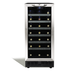 "Silhouette 34 Bottle 15"" Single zone Built-in Wine Cooler - Cheshire Wine Coolers WinecoolerMart"