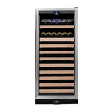 KingsBottle 98 Bottle Single Zone Wine Cooler Wine Coolers WinecoolerMart