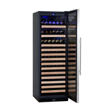 KingsBottle 131-Bottle Single Zone Wine Cooler Wine Coolers WinecoolerMart