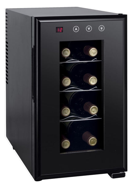 Sunpentown Thermoelectric Slim Wine Cooler with Heating (8 bottles) Wine Coolers WinecoolerMart