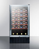 Summit SWC1840ADA 34 Bottle Single Zone Wine Cooler – ADA Compliant Wine Coolers WinecoolerMart