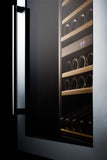 Summit VC60D 59 Bottle Integrated Dual Zone Wine Cooler Wine Coolers WinecoolerMart