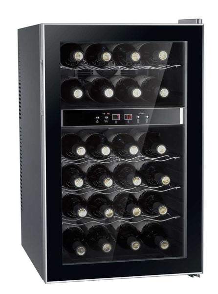 Sunpentown WC-2462M Dual Zone Thermoelectric Wine Cooler (24 bottles) Wine Coolers WinecoolerMart
