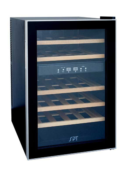 Sunpentown WC-2463W Dual Zone Thermoelectric Wine Cooler (24 bottles) Wine Coolers WinecoolerMart