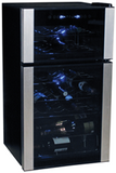 Koolatron WC29 29 Bottle Dual Zone Wine Cooler Wine Coolers WinecoolerMart