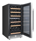 Avanti 28 Bottle Designer Series Dual Zone Wine Chiller w/Seamless Door Wine Coolers WinecoolerMart
