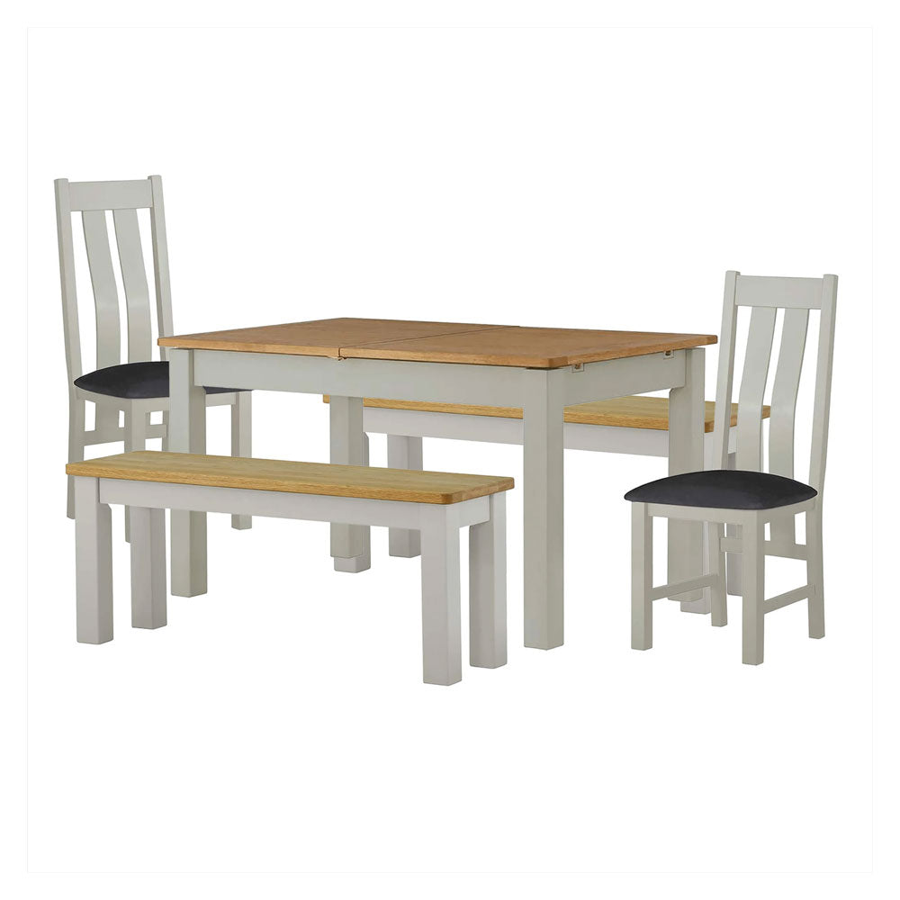 Oak & Solid Wood Dining Sets - Dining Table & Chairs - Roseland Furniture