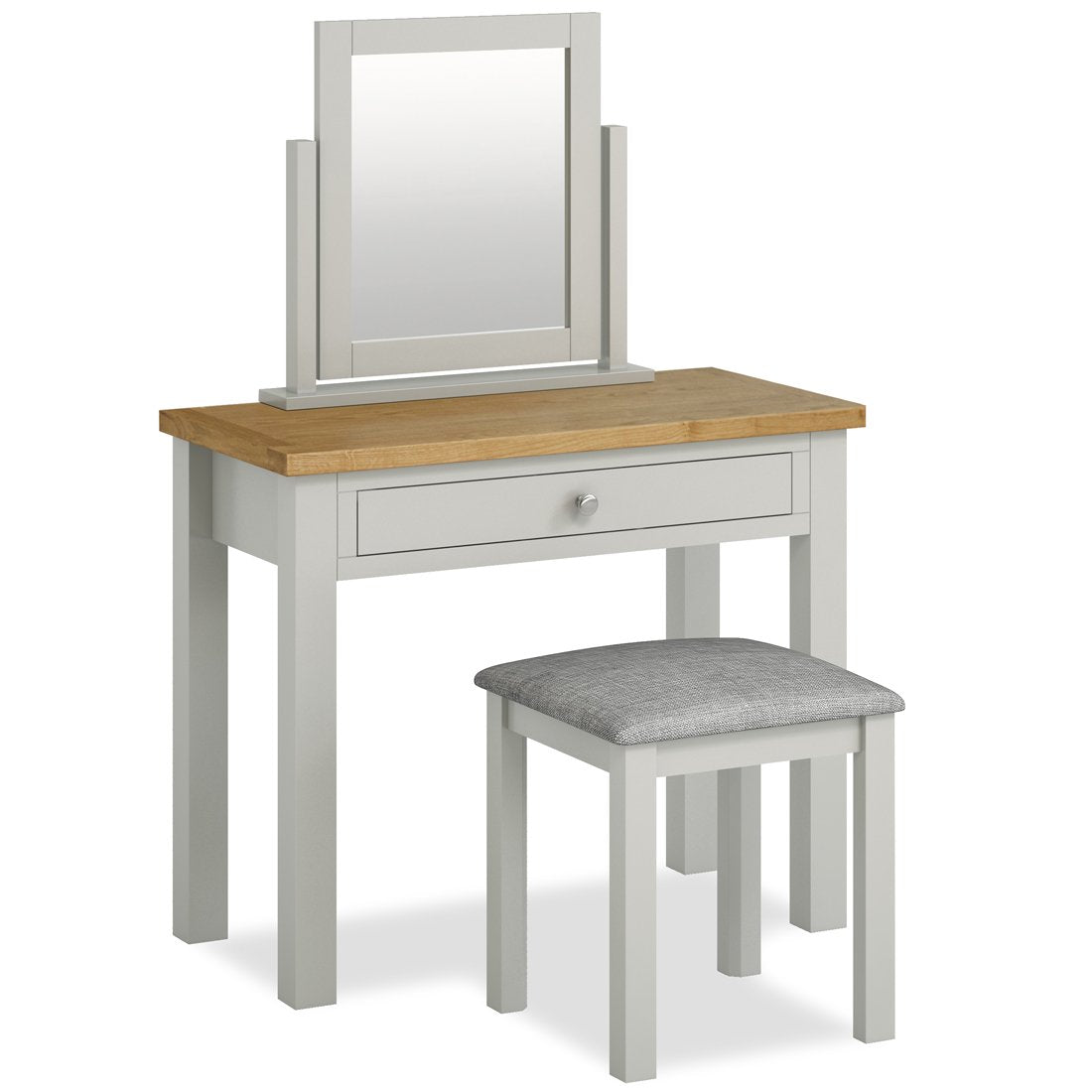 Oak & Solid Wood Bedroom Dressing Tables, Stools & Mirrors - Roseland Furniture