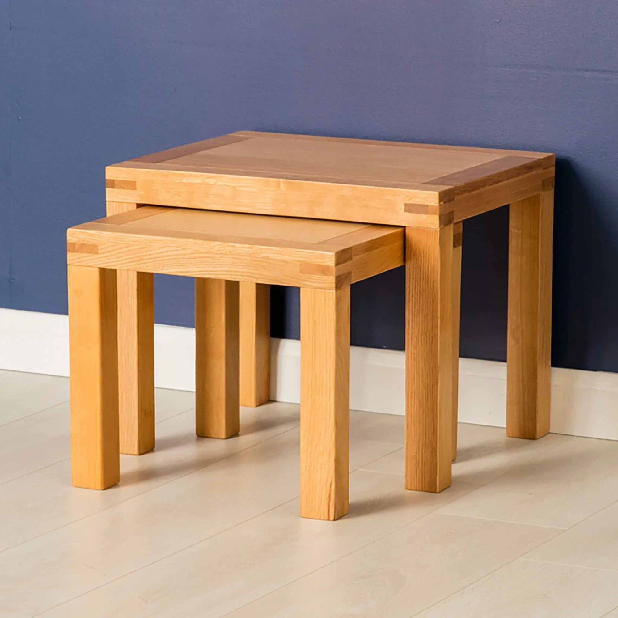 Oak Nest of Tables