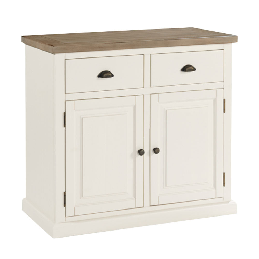 Rustic White Painted Range