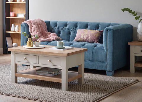 Charlestown Grey Coffee Table | Roseland Furniture