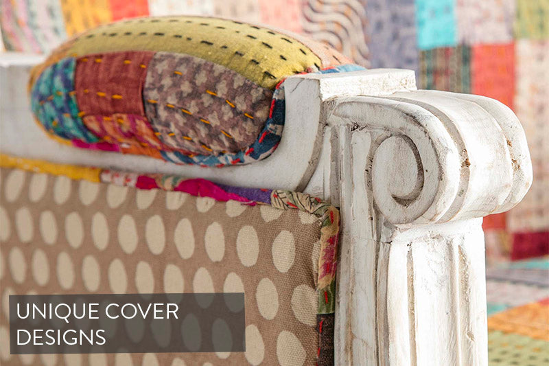 Kantha Chair Cover and Side | Roseland Furniture