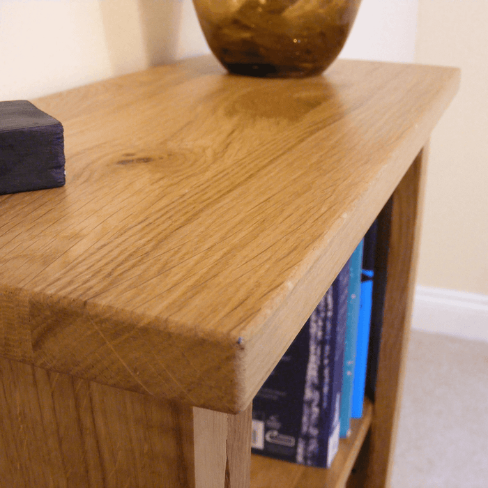 Stratton Oak Small Bookcase
