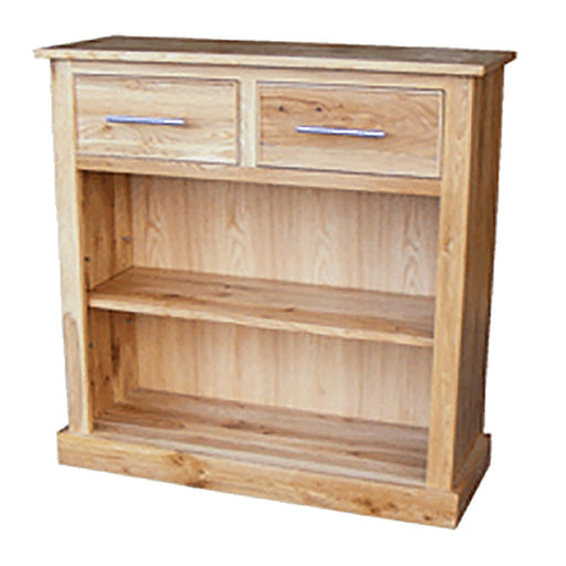 Stratton Oak Bookcase with Drawers