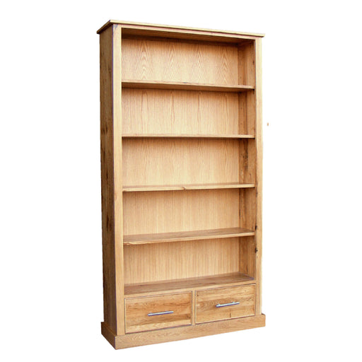 Stratton Oak High Lounge Bookcase