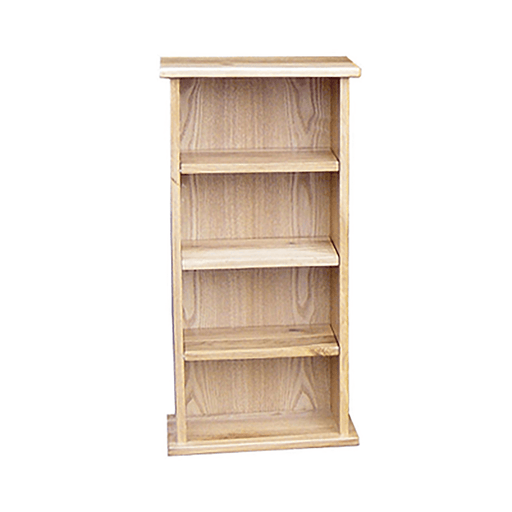 Stratton Oak Small CD Rack