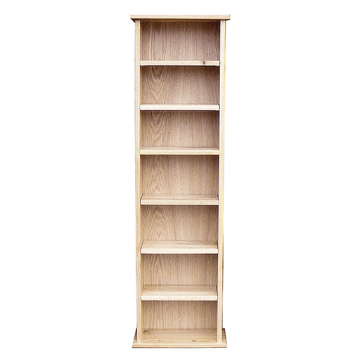 Stratton Oak Wide CD Rack