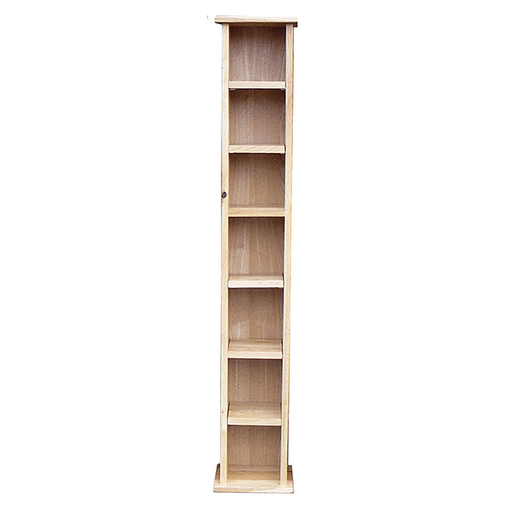 Stratton Oak Tall CD Rack