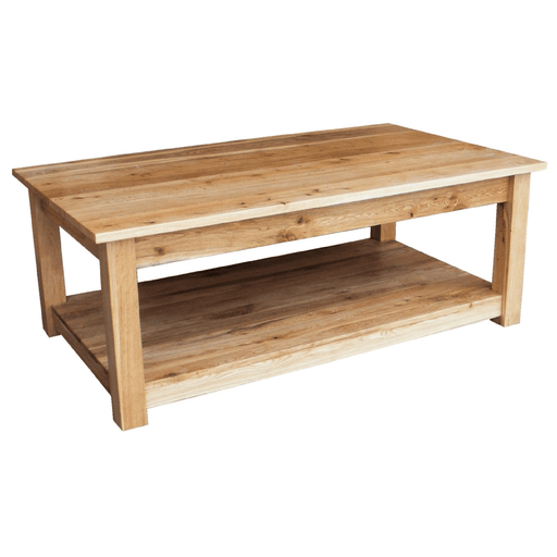 Stratton Oak Large Coffee Table