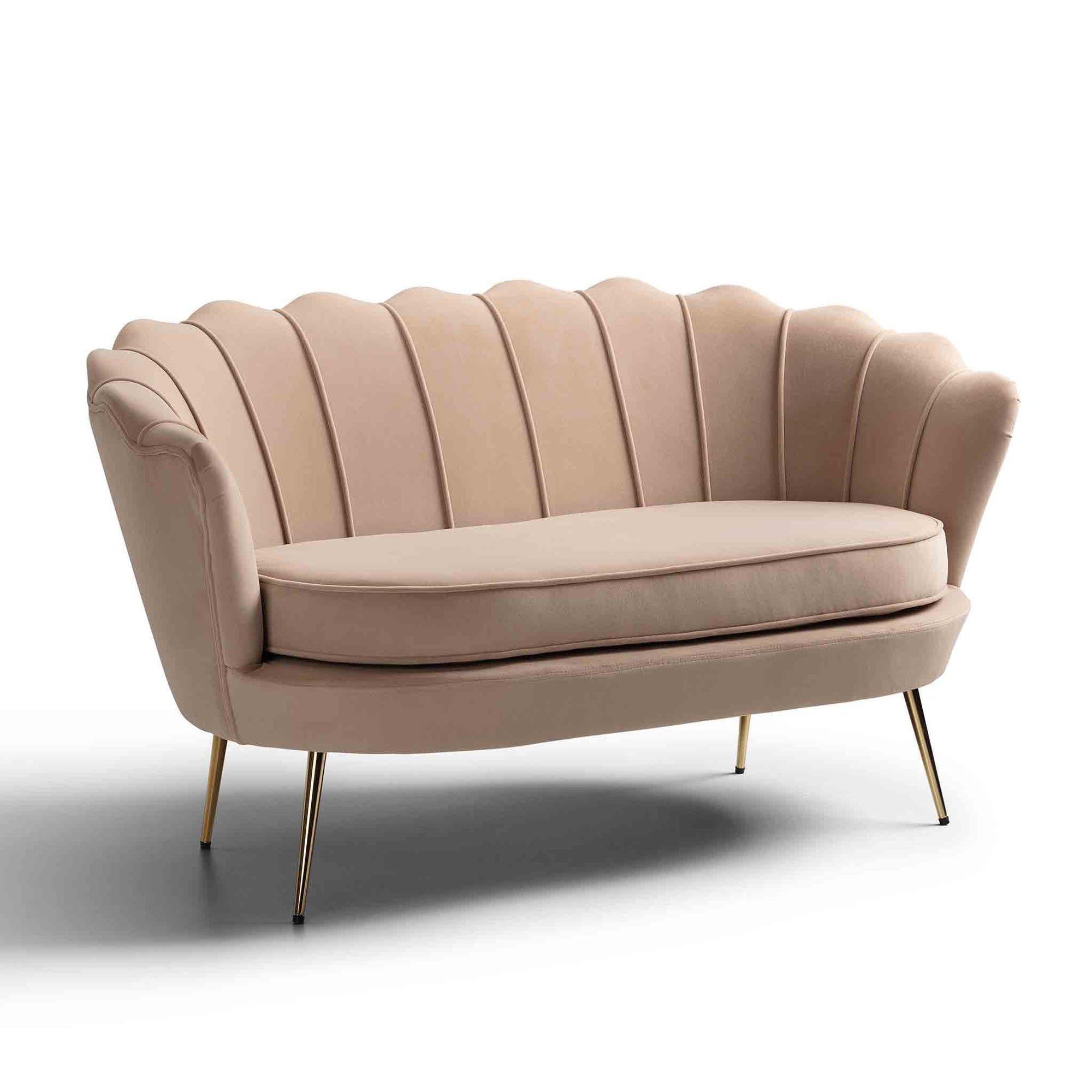 Pearl Shell Two Seater Chair by Roseland Furniture