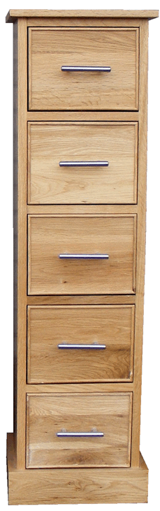 Stratton Oak DVD Chest