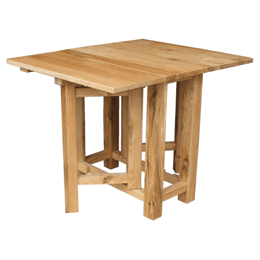 Stratton Oak Folding Table
