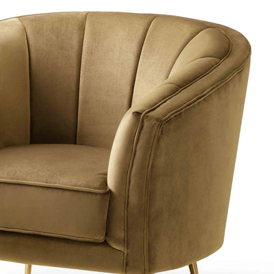 Adele Accent Chair - Mustard