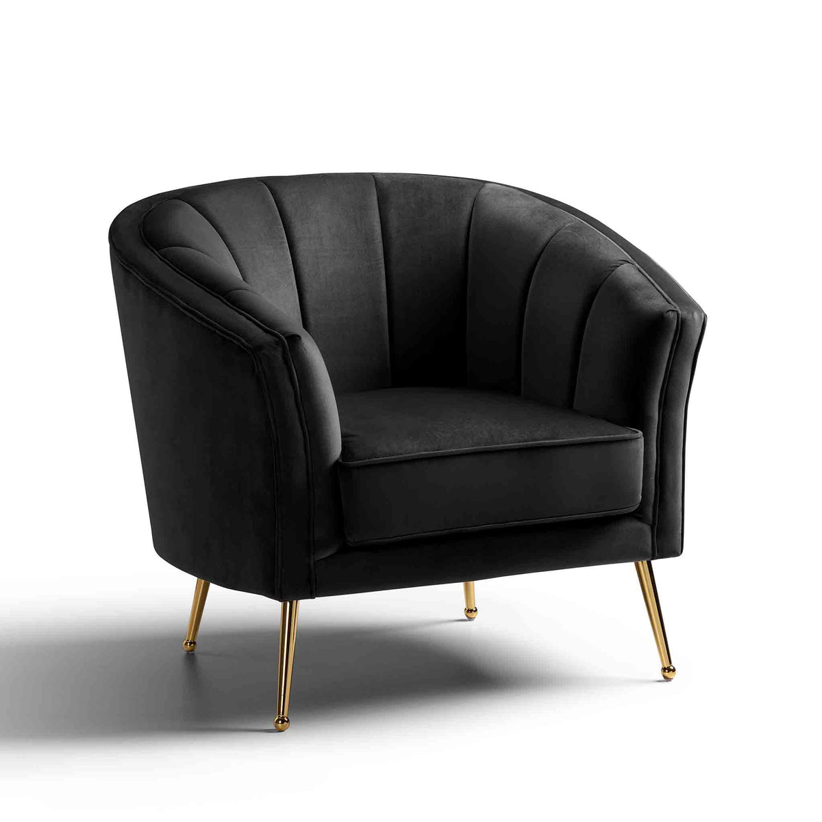 Adele Accent Chair - Black