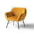 Candy Gold Velvet Accent Chair