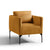 Bali Gold Velvet Accent Chair