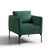 Bali Jasper Velvet Accent Chair
