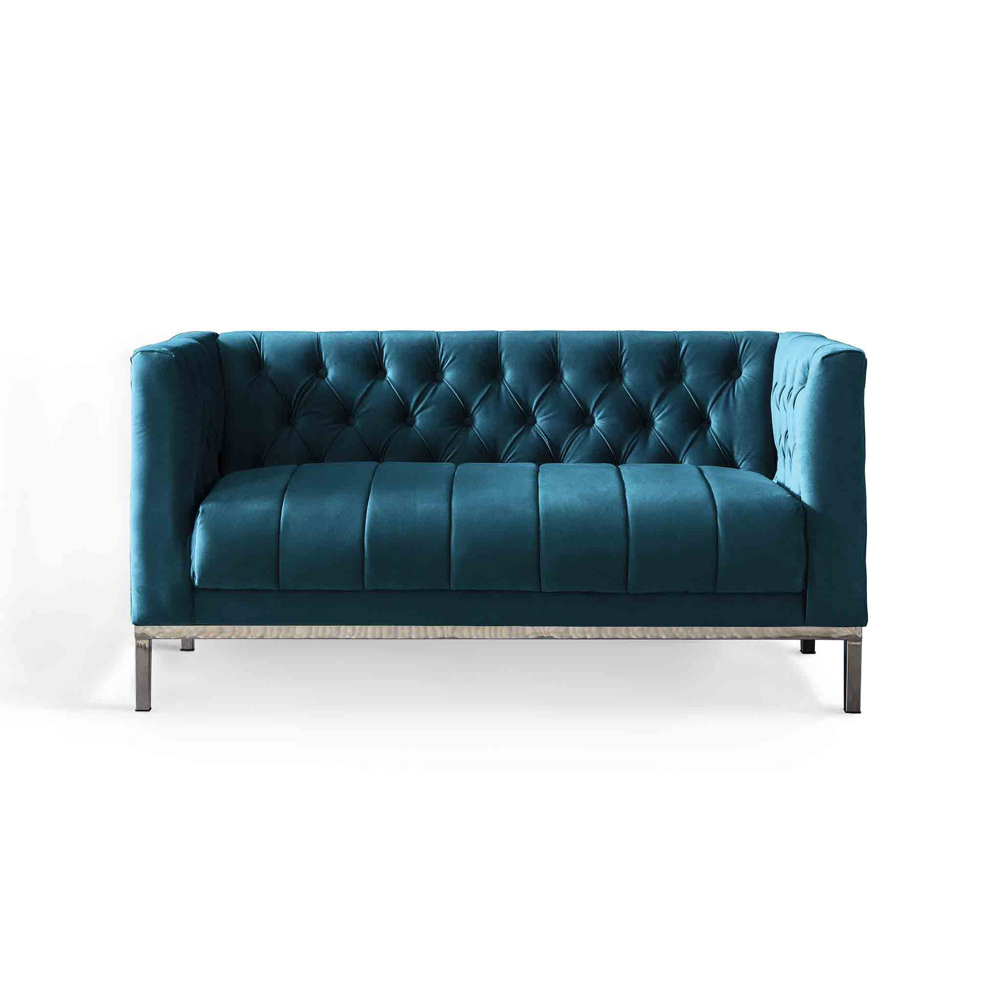 Mayfair Peacock 2 Seater Sofa by Roseland Furniture