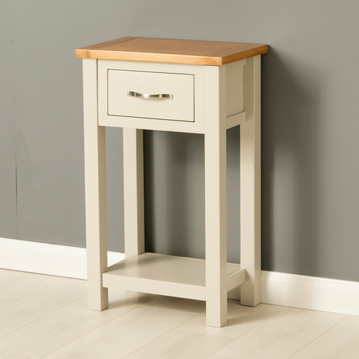 Mullion Grey Telephone Table