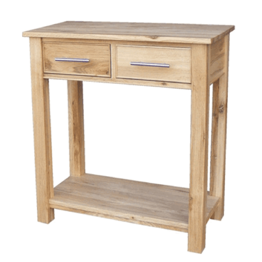 Stratton Oak Console Table