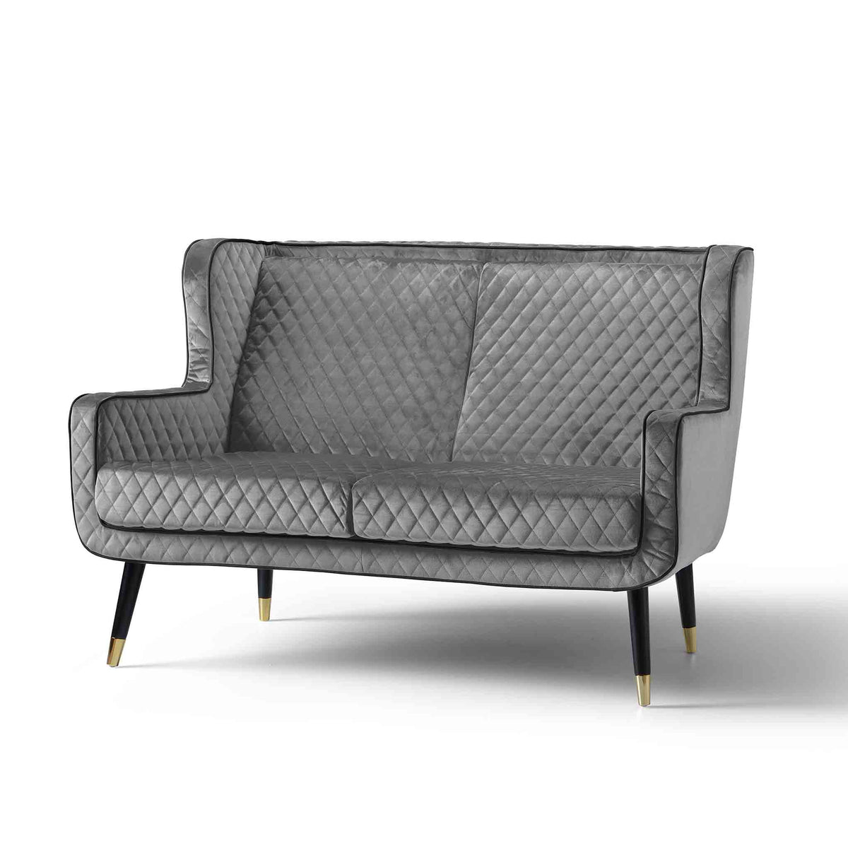 Monty Grey 2 Seater Sofa Chair