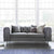 Ritz Grey Velvet 2 Seater Chesterfield Couch lifestyle image