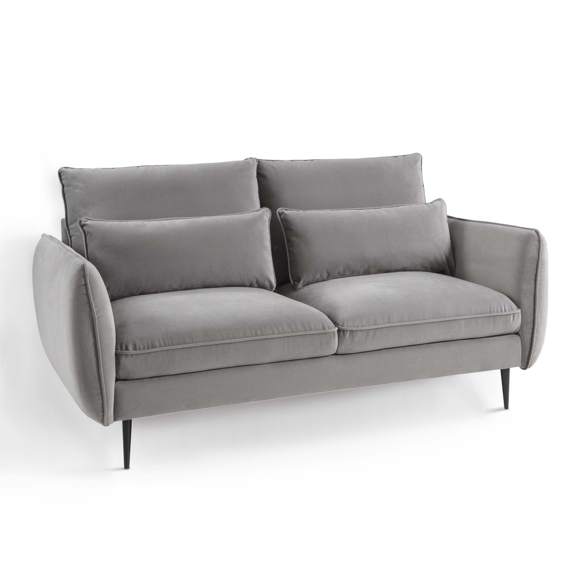 Rhonda Grey Velvet 2 Seater Sofa  from Roseland Furniture