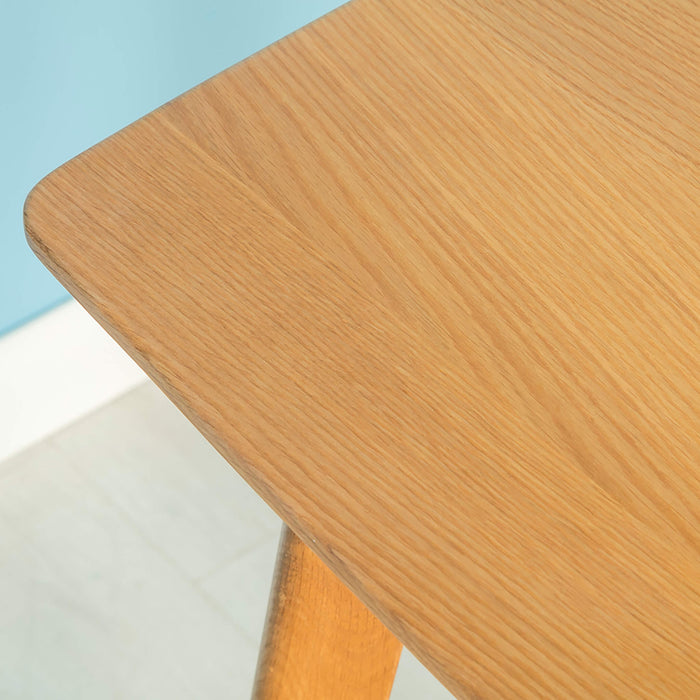 Nordic Oak Square Dining Table 85cm x 85cm
