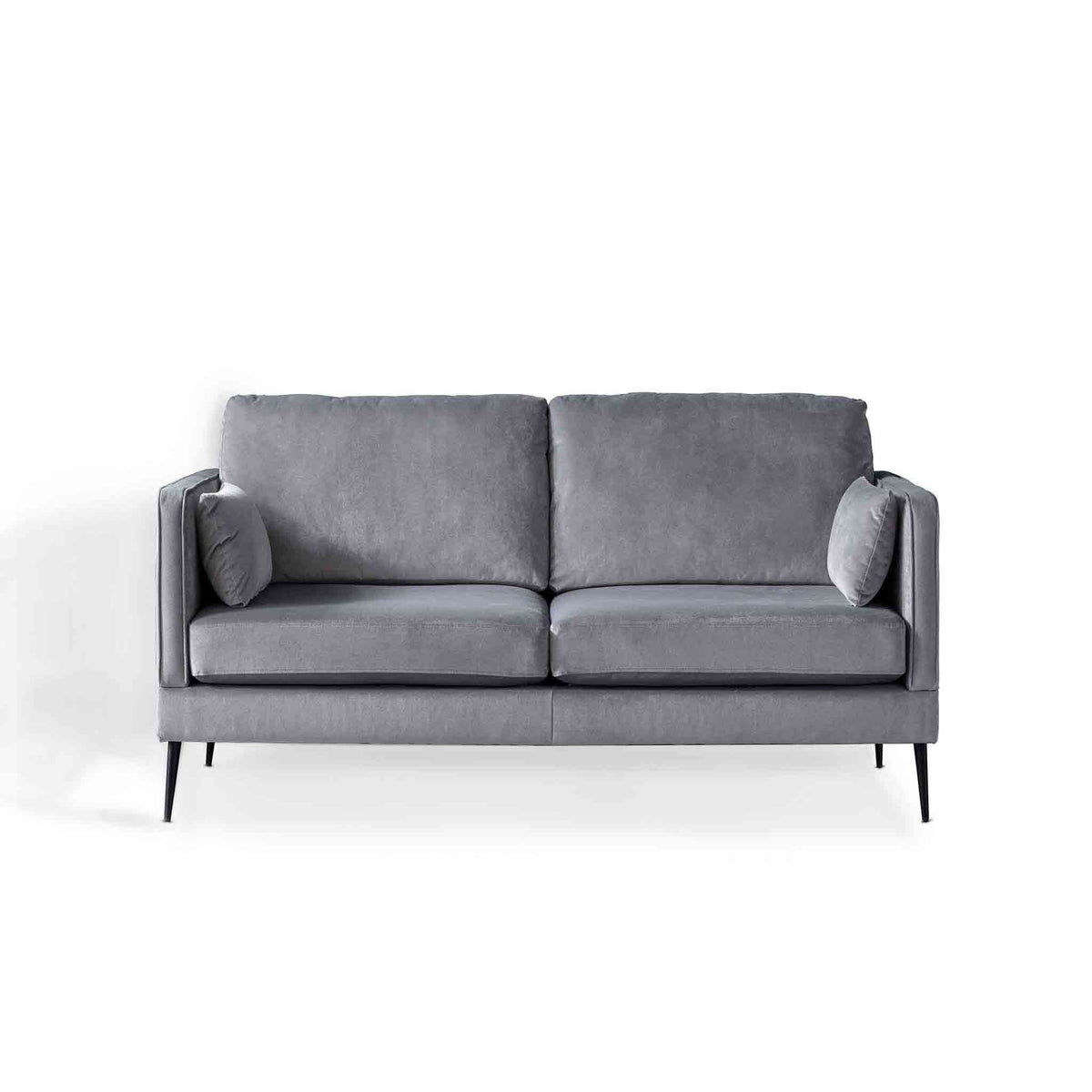 Anton Grey 2 Seater Sofa by Roseland Furniture